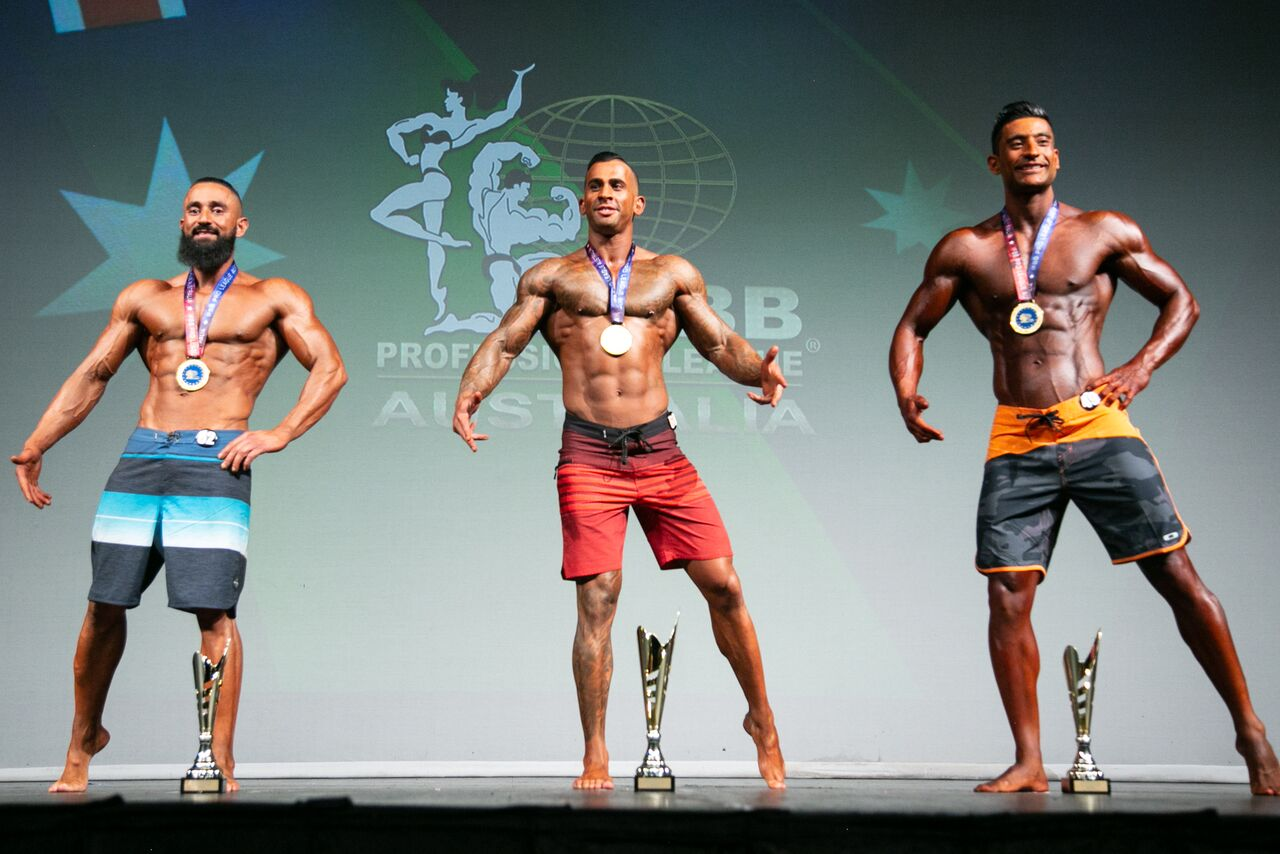 Men's Physique First Timers