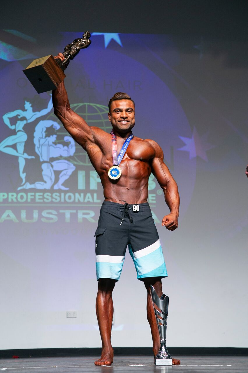 Mens Physique Overall State Champion